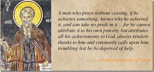 Doretheos Prayer