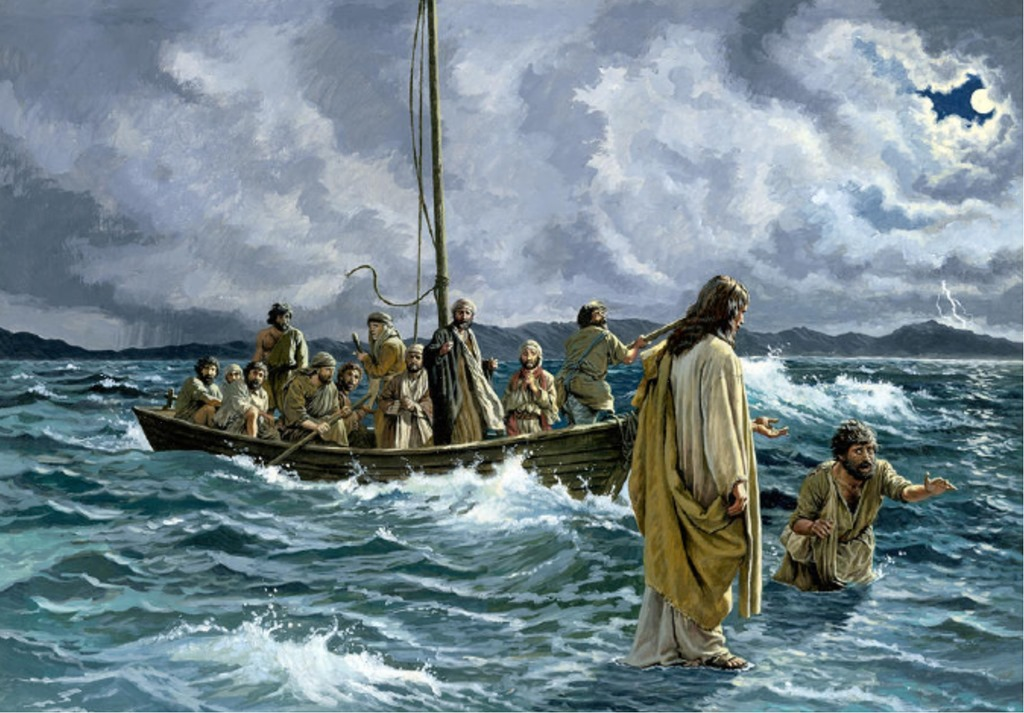 The storm on the sea of galilee a pastors thoughts jesus on the water publicscrutiny Choice Image