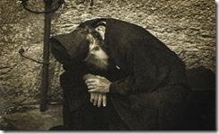 Monk in prayer orthodox