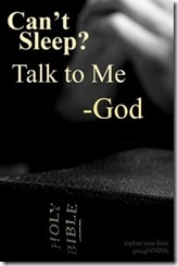 god for sleep