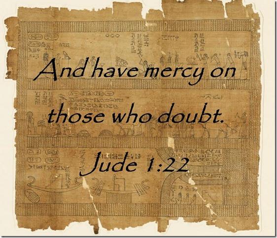 Doubt Scripture