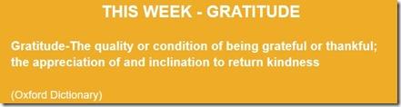 Gratitude Definition