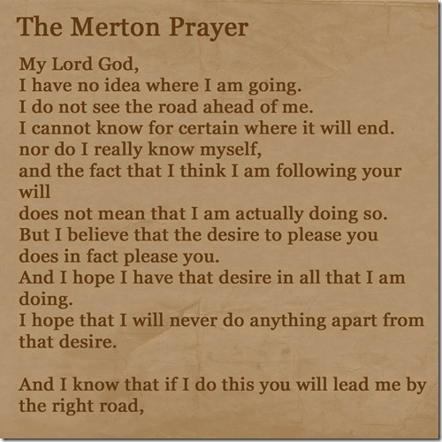Merton Prayer